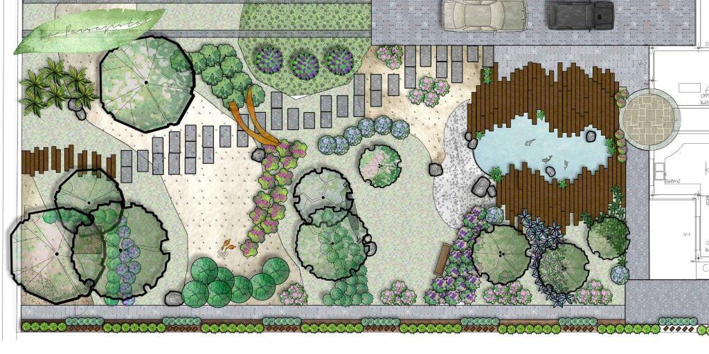 C mo trabajamos la paisajista estudio de paisajismo y for Paisajismos en jardines