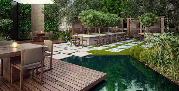La paisajista estudio de paisajismo dise o de jardines - Diseno jardines online ...
